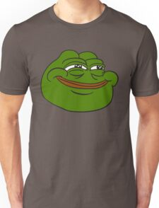 Happy Pepe the Frog Unisex T-Shirt