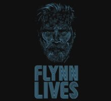 Flynn Lives - Tron - Kevin Flynn - Jeff Bridges by James Ferguson - Darkinc1