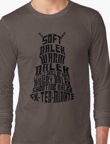 Soft Dalek, Warm Dalek Long Sleeve T-Shirt