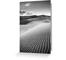Sand Pattern - Great Sand Dunes National Park, Colorado Greeting Card