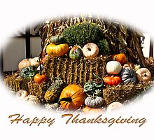 Happy Thanksgiving by GalleryThree