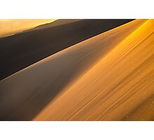 Warm Glow - Great Sand Dunes National Park, Colorado Photographic Print