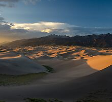 Sunset on the Dunes - Great Sand Dunes National Park, Colorado by Jason Heritage