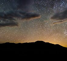 Light Pollution Over the Sangre de Cristo - Great Sand Dunes National Park, Colorado by Jason Heritage
