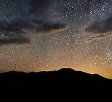 Light Pollution Over the Sangre de Cristo - Great Sand Dunes National Park, Colorado by Jason Heritage