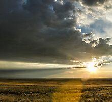 Single Ray - Great Sand Dunes National Park, Colorado by Jason Heritage