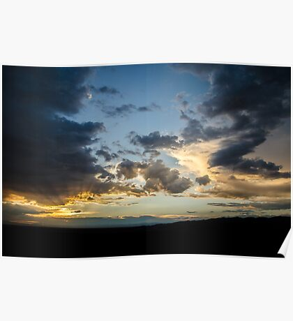 Dusk Over the Dunes - Great Sand Dunes National Park, Colorado Poster