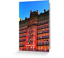 NYC - Building Series - Chelsea Hotel Greeting Card