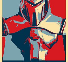 Vote for Cylon by Travis Love
