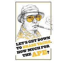 FEAR AND LOATHING IN LAS VEGAS- HUNTER S. THOMPSON Photographic Print