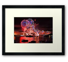 International Fleet Review Framed Print