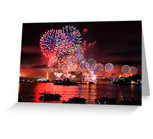 International Fleet Review Greeting Card