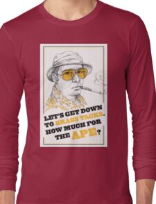 FEAR AND LOATHING IN LAS VEGAS- HUNTER S. THOMPSON Long Sleeve T-Shirt