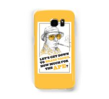 FEAR AND LOATHING IN LAS VEGAS- HUNTER S. THOMPSON Samsung Galaxy Case/Skin