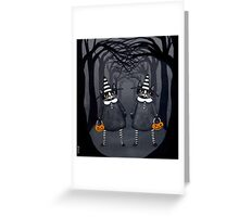 The Witch Twins Greeting Card