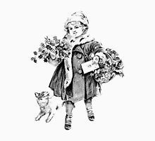Victorian Child At Christmas Time. Christmas Presents For Christmas Past T-Shirt