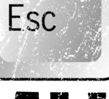 Escape Reality Sticker