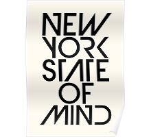 New York State of Mind Poster