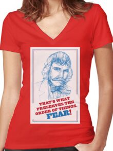 "GANGS OF NEW YORK - Bill ""the Butcher"" Cutting Women's Fitted V-Neck T-Shirt"