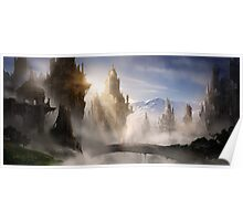 Skyrim Fantasy Ruins Poster