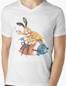 disgaea usalia and fat prinnie Mens V-Neck T-Shirt