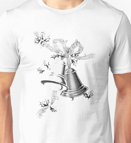 Christmas Bells Are Ringing!  Unisex T-Shirt