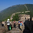 The Mutianyu Great Wall. Huairou District, Beijing, China. by Ralph de Zilva