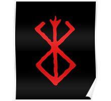 Berserk Sacrifice Emblem Poster
