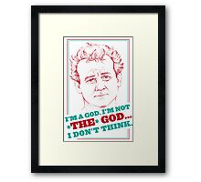 GROUNDHOG DAY - Phil Connors Framed Print