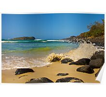 Cook island from Fingal Poster