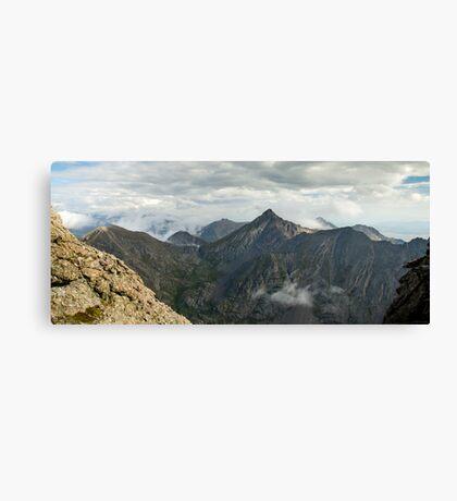 Mount Adams - Sangre de Cristo Wilderness, Colorado Canvas Print