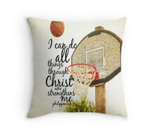 I can do all things Philippians 4 Throw Pillow