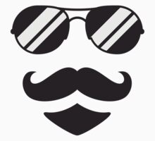 Cool Mustache Man by Style-O-Mat