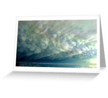 Mammatus Cloud Greeting Card
