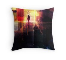 In The City... Throw Pillow