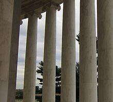 Columns - Jefferson Memoral by corrado