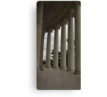 Columns - Jefferson Memoral Canvas Print