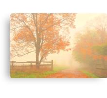 those autumn days.. Canvas Print