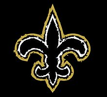 New Orleans Saints logo by w00rdup