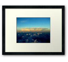 Distance Cloud Bloom Framed Print