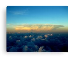 Distance Cloud Bloom Canvas Print