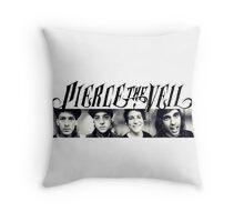 pierce the veil Throw Pillow