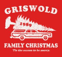 Griswold Family Christmas Shirt Kids Clothes