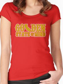 Golden State of Mind Niners Edition Women's Fitted Scoop T-Shirt