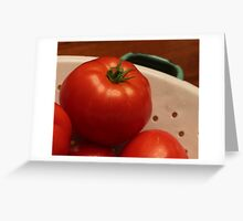 Tomatoes from the Garden Greeting Card