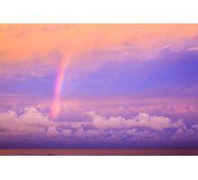 Twilight Rainbow Photographic Print