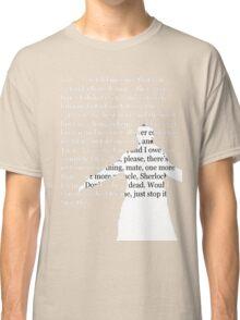 Reichenbach Fall (for dark base colours) Classic T-Shirt