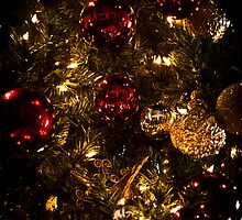 Christmas Tree Ornaments 3 by Joann Copeland-Paul