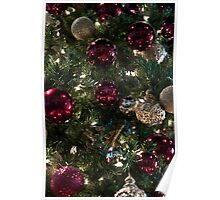 Christmas Tree Ornaments 2 Poster
