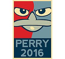 Perry the Platypus For President 2016 Photographic Print